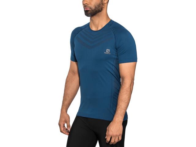 Salomon Sense Pro Koszulka Mężczyźni, poseidon